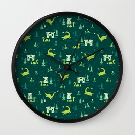 Cryptid Cuties: The Lochness Monster Wall Clock
