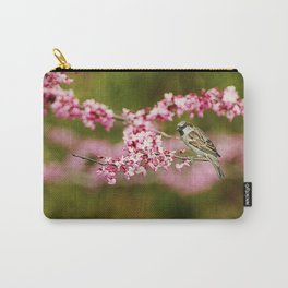 Spring Redbud Carry-All Pouch