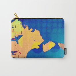 Kenna Blue Carry-All Pouch