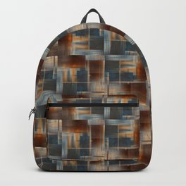 Mosaic Tiled Backpack