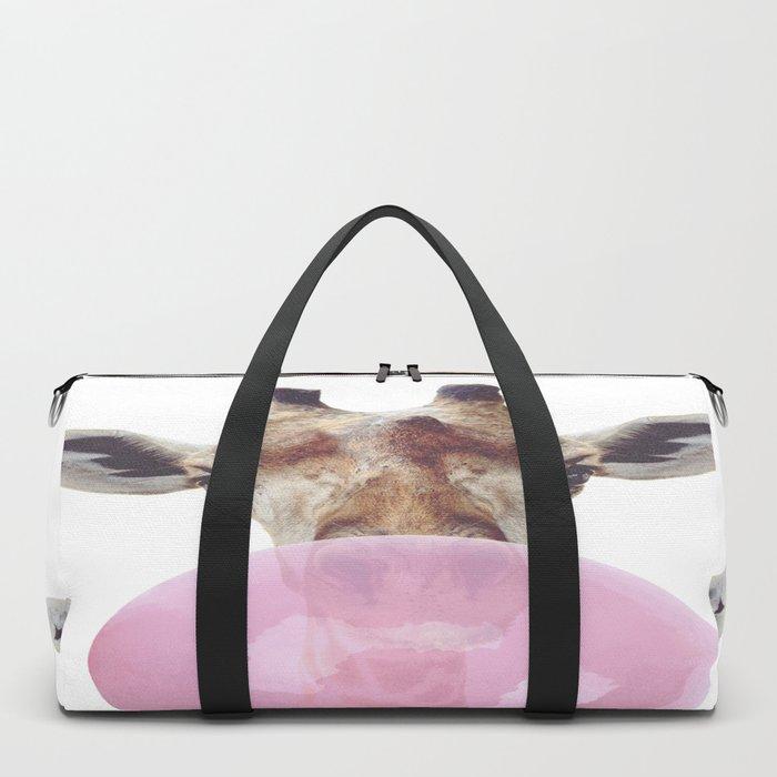 Bubble Gum - Giraffe Duffle Bag