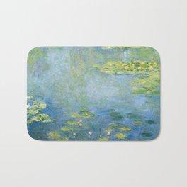 Water Lilies 1906 by Claude Monet Bath Mat
