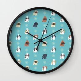 Shih Tzus Wall Clock