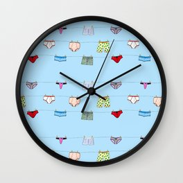 Undies Wall Clock