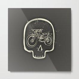 No ride, no life Metal Print