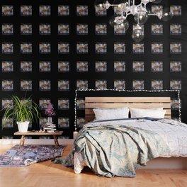 Rush Hour in Vigan City (on black) Wallpaper