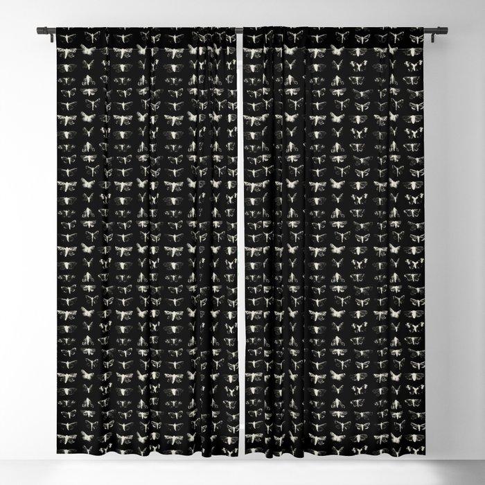 moths Blackout Curtain