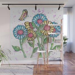 Summer of Love Wall Mural