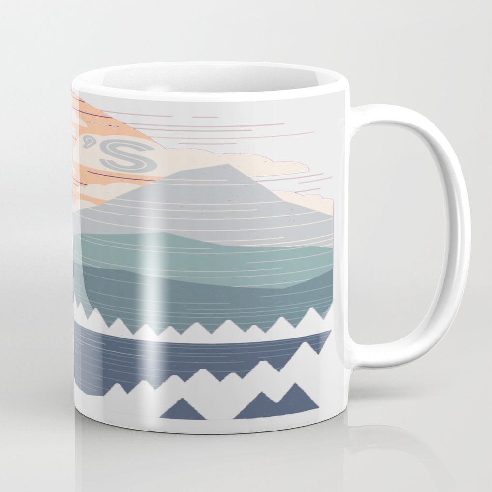 Let's Go Tea Cup by Dadsfb MUG9140594