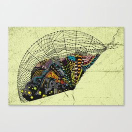 Open Fan Canvas Print