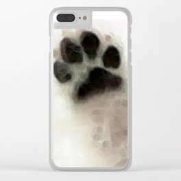 I Paw You - Dog Art By Sharon Cummings Clear iPhone Case