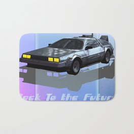 Back to the Future Bath Mat