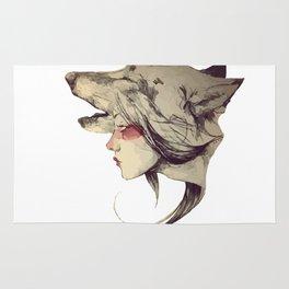 She Wolf Rug
