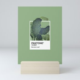 Pantone Series – Banana Leaf Mini Art Print