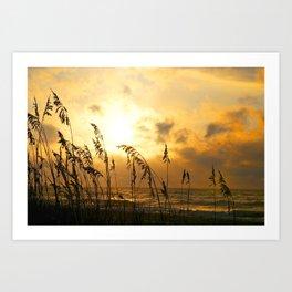 Myrtle Beach Sunrise Art Print