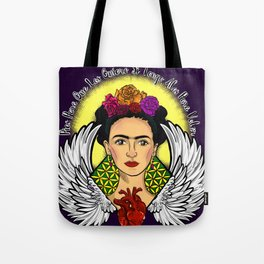 "Frida Kahlo ""Alas"" Tote Bag"