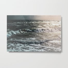 Wave After Wave Metal Print