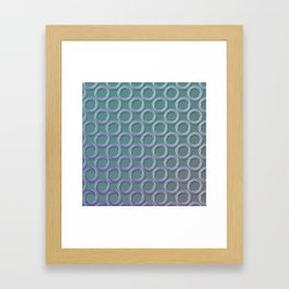 Rings Framed Art Print