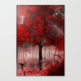 red.. Canvas Print