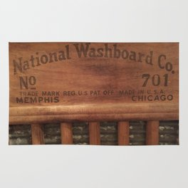 Antique washboard Rug