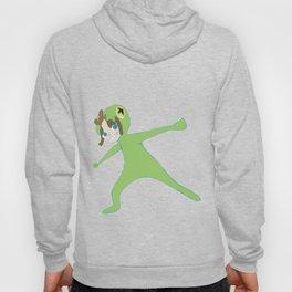 Green suit Hoody