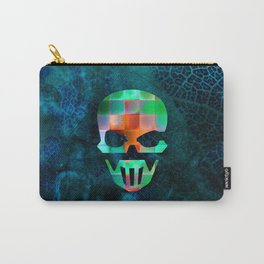 CHECKED DESIGN II - SKULL Carry-All Pouch