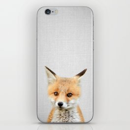Baby Fox - Colorful iPhone Skin