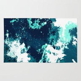 Galaxy II blue Rug