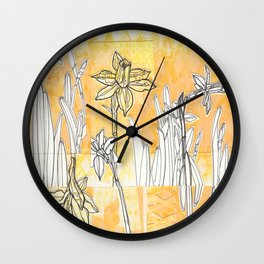 Spring is Sprung Wall Clock