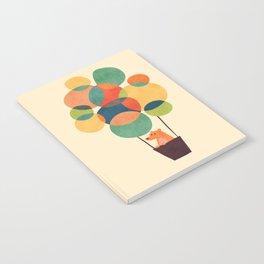 Whimsical Hot Air Balloon Notebook