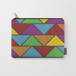 Colorful Triangle V(Ranging Tribuj Pach) Carry-All Pouch