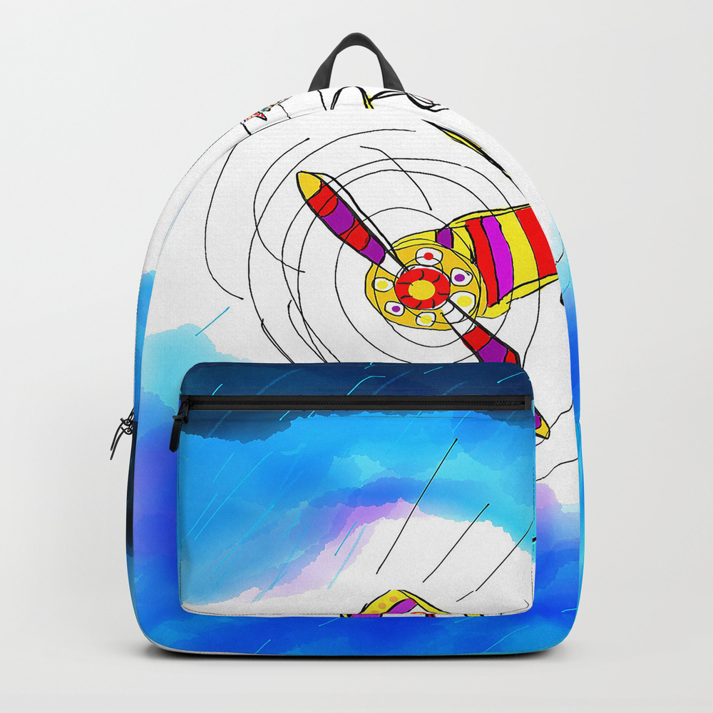 Storm Pilot Backpack by Bbillustrator BKP8511940