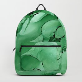 #028 - Monochrome Ink in Green Backpack