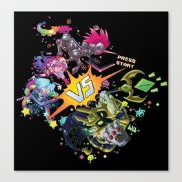 Arcade Versus Canvas Print