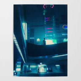 Dongdaemun at Night Poster