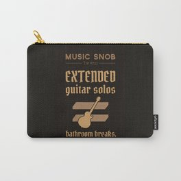 Solos = DON'T GO-s! — Music Snob Tip #723 Carry-All Pouch