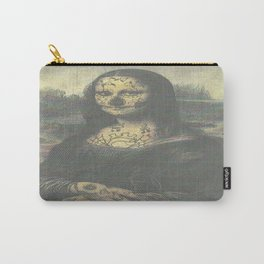 Mona Crack Carry-All Pouch