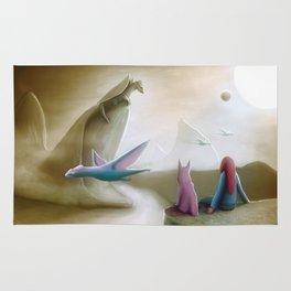 Watching Dragons Rug
