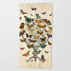 Butterfly House Beach Towel