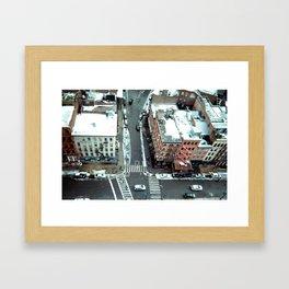 Tribeca Streets Framed Art Print
