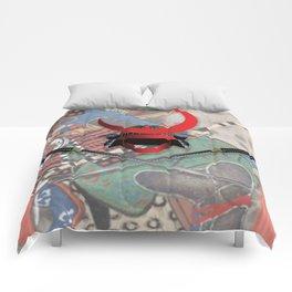 Samurai Swords and Helmet Comforters