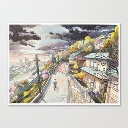 Bicycle Boy 08 Canvas Print
