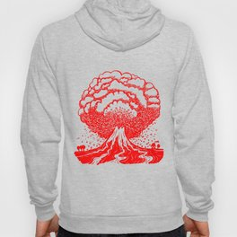 Volcano - Red Hoody