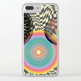 A Trip into the Cosmos Clear iPhone Case