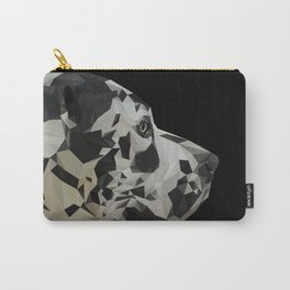 Great Dane Dogue low poly. Carry-All Pouch