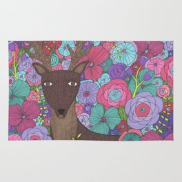 The Wise Stag Rug