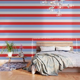 TEAM COLORS 9...Red,light blue, white Wallpaper
