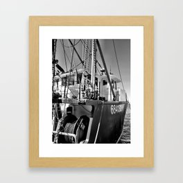 Harborside Framed Art Print