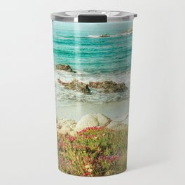 Scenic Photography, Beach, 17 Mile Drive, Monterey, Pebble Beach, Pacific Grove,  Travel Mug