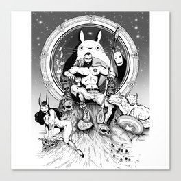 FandomThrone Canvas Print